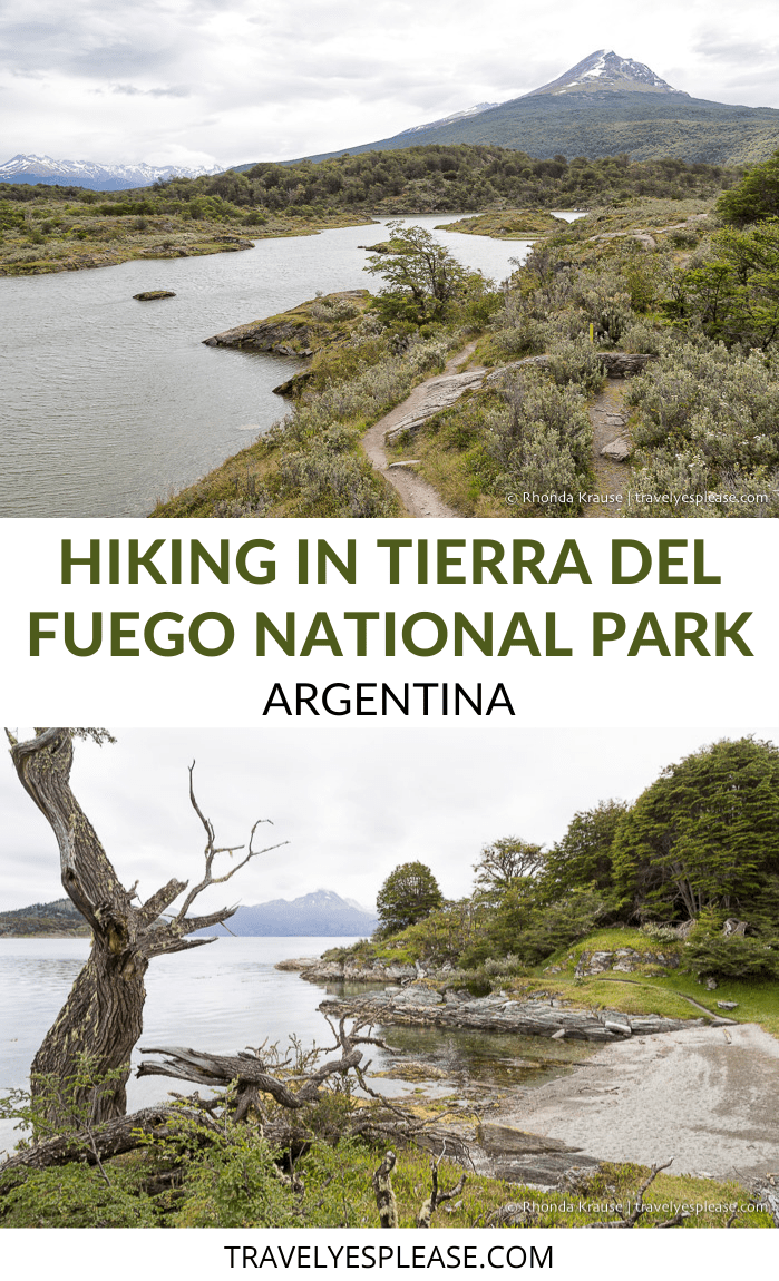 Hiking in Tierra del Fuego National Park- How to See the Park on Foot