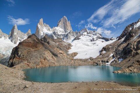 Mount Fitz Roy and Laguna de los Tres- El Chalten, Argentina.