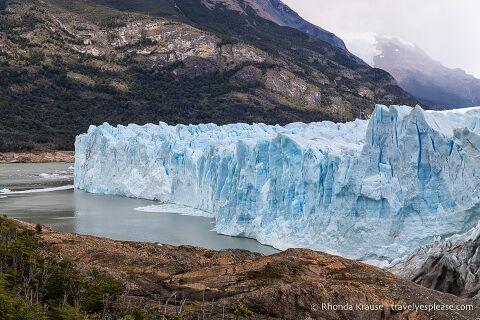 Perito Moreno Glacier and Brazo Rico.