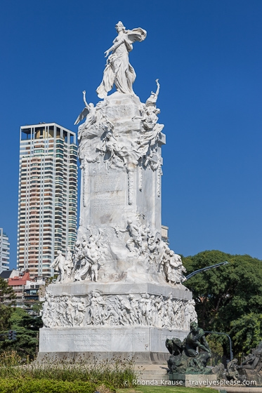 Monument to the Carta Magna and Four Regions of Argentina.