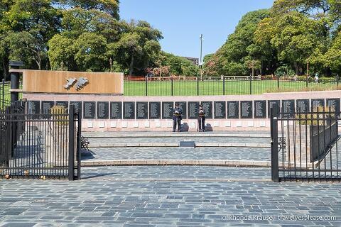 Monumento a los Caidos en Malvinas (Monument to the Fallen in Malvinas)- Plaza San Martin, Buenos Aires.