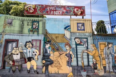 Maqueta Barrio La Boca.